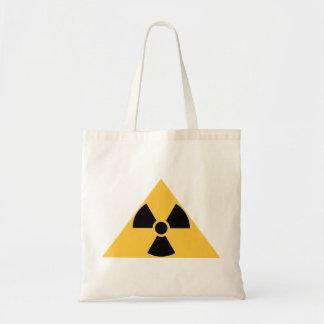 Bolso radiactivo del emblema bolsa tela barata