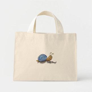 Bolso rayado del caracol bolsa de mano