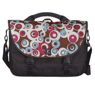 Bolso retro colorido lindo enrrollado del ordenado bolsa para ordenador