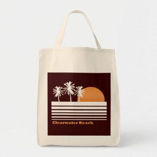Bolso retro de la lona de la playa de Clearwater Bolsa