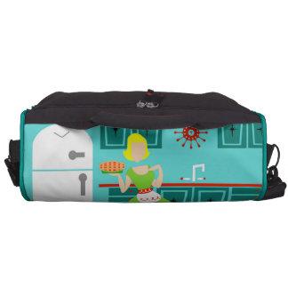 Bolso retro del ordenador portátil del viajero de bolsas para portatil