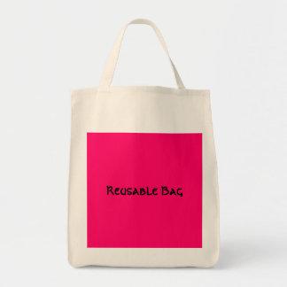 Bolso reutilizable bolsas