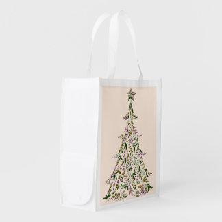 Bolso reutilizable - árbol de Toscana Bolsas Para La Compra