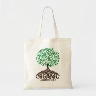 Bolso reutilizable crecido orgánico de la lona del bolsas de mano
