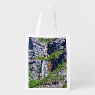 Bolso reutilizable de la cascada #1a- de Utah - Bolsas Para La Compra