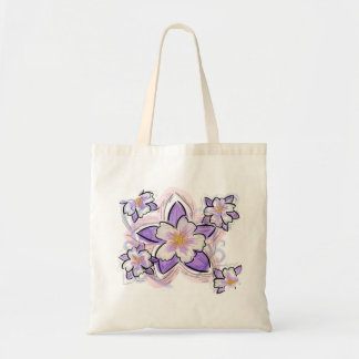 Bolso reutilizable de la flor de Columbine Bolsa Tela Barata