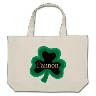 Bolso reutilizable de la lona de algodón de Fannon Bolsa