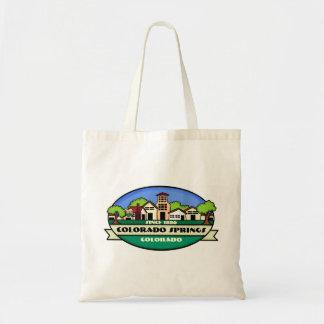 Bolso reutilizable de la pequeña ciudad de Colorad Bolsa