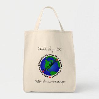 Bolso reutilizable del aniversario del Día de la T Bolsa