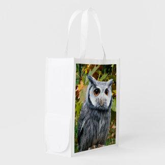 Bolso reutilizable del búho bolsa para la compra