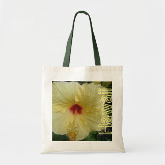 Bolso reutilizable del hibisco hawaiano bolsas