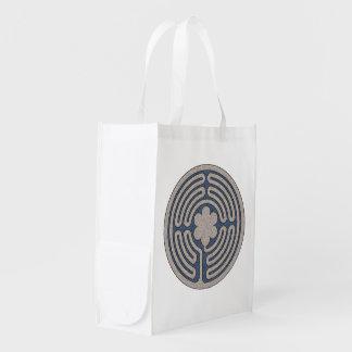 Bolso reutilizable del laberinto de NeoMedieval Bolsas Reutilizables