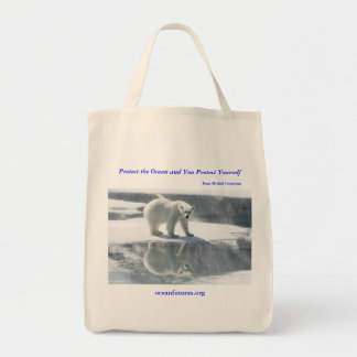 Bolso reutilizable del oso polar