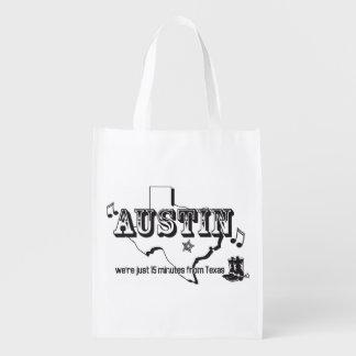Bolso reutilizable descarado bolsas de la compra