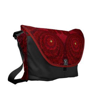 Bolso rojo 1 de la mandala SDL de la perla Bolsas De Mensajería