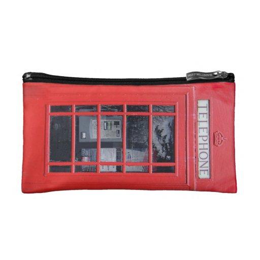Bolso rojo de la cabina de teléfonos de Londres