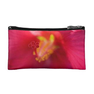 Bolso rojo del accesorio del hibisco