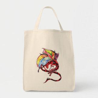 Bolso rojo del arco iris del dragón del Faerie Bolsa