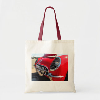 Bolso rojo del ~ del Corvette Bolsa Tela Barata