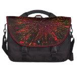 Bolso rojo del viajero del hielo bolsas de ordenador