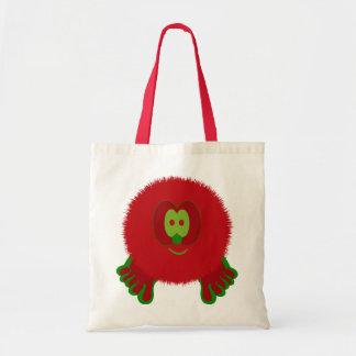 Bolso rojo y verde de Pom Pom PAL