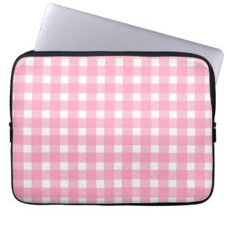 Bolso rosado de la electrónica de la guinga funda computadora