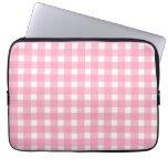 Bolso rosado de la electrónica de la guinga funda ordendadores