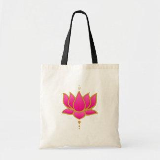 Bolso rosado de Lotus de la alheña
