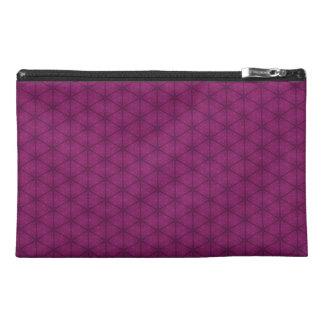 Bolso rosado oscuro del accesorio del viaje del