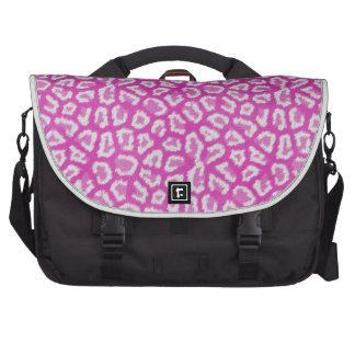 Bolso rosado y blanco del ordenador portátil del e bolsas para portátil