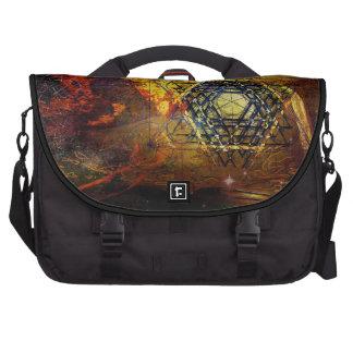 Bolso sagrado del símbolo de la geometría del bolsa de ordenador