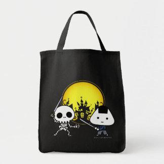 Bolso - samurai de RiceBall CONTRA el esqueleto Bolsa Tela Para La Compra