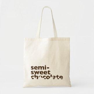 Bolso Semisweet del chocolate Bolsa Tela Barata