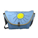 bolso soleado alegre bolsa de mensajeria