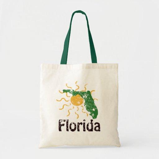 Bolso soleado de la lona de la Florida Bolsa De Mano