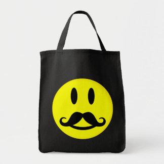 Bolso sonriente del bigote - elija el estilo, colo bolsas de mano