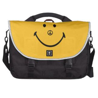 Bolso sonriente del top del revestimiento de la ca bolsa para ordenador