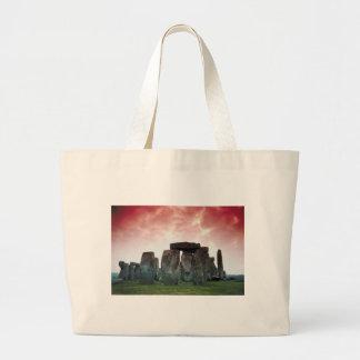 Bolso-Stonehenge Bolsa Lienzo