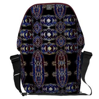 Bolso tribal detallado magnífico del ordenador bolsas messenger