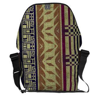 Bolso tribal geométrico hermoso del ordenador bolsas messenger