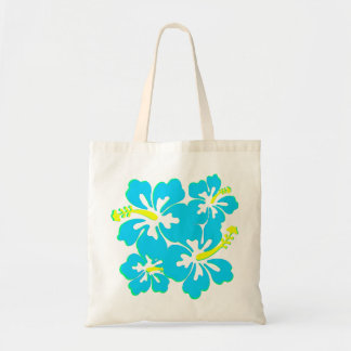 Bolso tropical bonito del hibisco bolsa