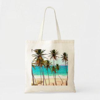 Bolso tropical de la playa bolsa tela barata