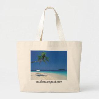 bolso tropical de la playa, southcountysurf.com bolsas lienzo