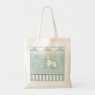 Bolso tropical del bebé de los pescados bolsa de mano