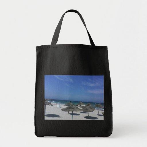 Bolso tunecino de la playa bolsa tela para la compra