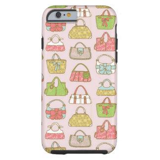 Bolso-uno-Holic (rosa) Funda Resistente iPhone 6