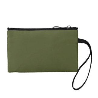 Bolso verde de Bagettes del arbolado
