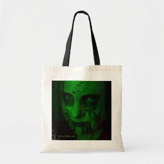 Bolso verde de la lona del espíritu necrófago bolsas