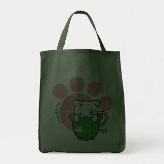 Bolso verde del Equipo-Té (más estilos) Bolsa