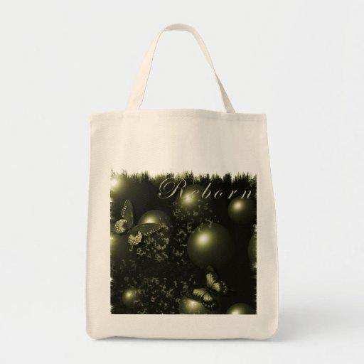 Bolso verde del navidad renacido bolsas de mano